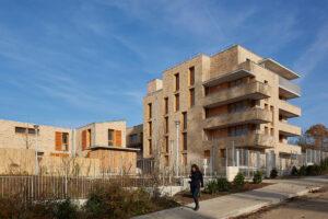 Logements sociaux aux Mureaux par Élisabeth Veit Architecte