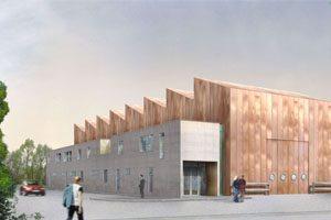 photo de couverture industrie projet entrepôt sur le port de Genevilliers Genevilliers architecture Elisabeth Veit architecte