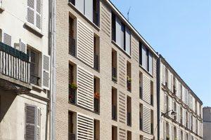photo de couverture logements sociaux et locaux d'activité à Paris