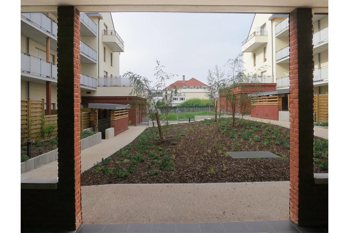 elisabeth veit architecte 64 logements sociaux cormeilles en parisis 95. Black Bedroom Furniture Sets. Home Design Ideas
