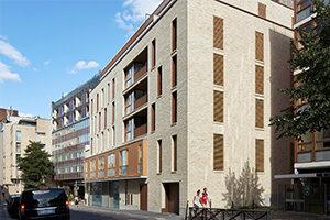 Photo de couverture projet architecture de logements et creche à Falguiere Elisabeth Veit architecte